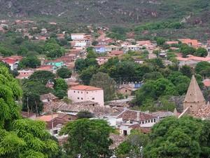Turistas são atraídos também pelas belezas naturais de Grão Mogol  (Foto: Site / Prefeitura Grão Mogol)