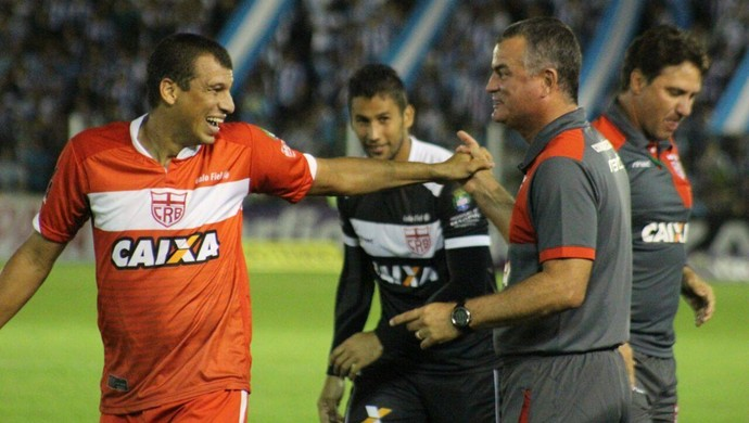 Neto Baiano CRB (Foto: Fernando Torres/Assessoria Paysandu)