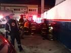 Carro desgovernado invade posto de combustível e motorista morre