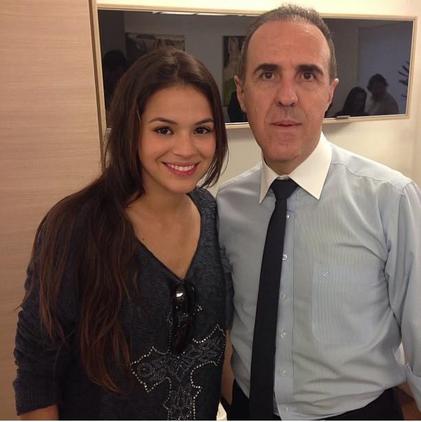 Bruna Marquezine e Wagner Ribeiro (Foto: Reprodução/Instagram)
