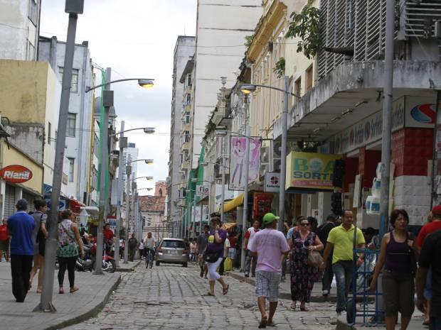 Centro Comercial de Belém será revitalizado (Foto: Camila Lima/O Liberal)