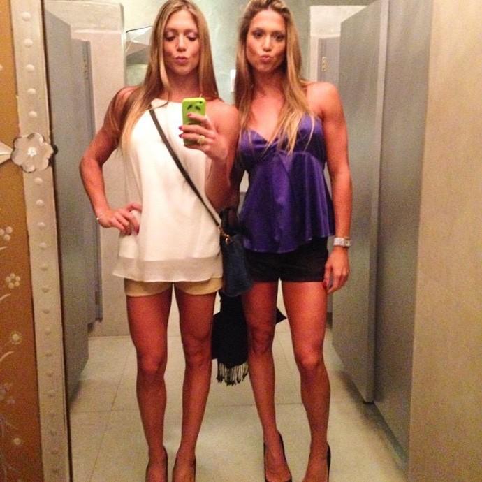 Bia e Bianca 214 (Foto: Reprodução/ Instagram)