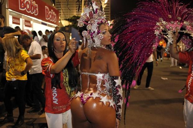 Musa do corpo pintado (Foto: Marcos Serra Lima/ EGO)