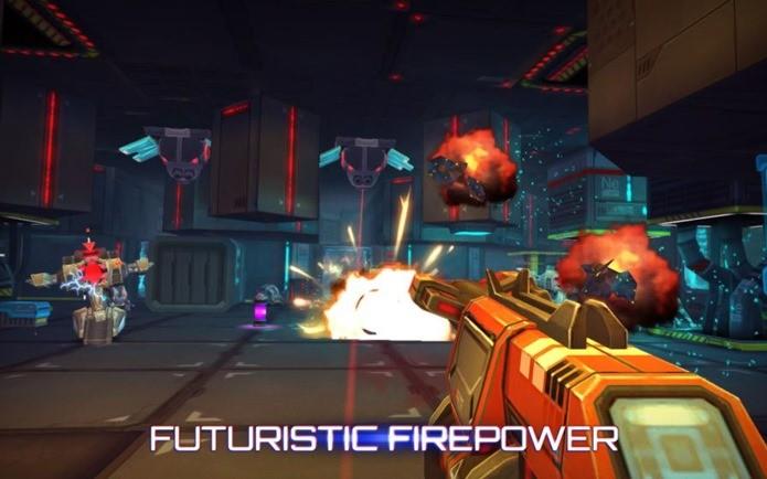Ótimos gráficos em um jogo de ação futurista (Foto: Divulgação)