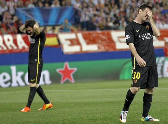 Messi Barcelona x Atlético de Madrid (Foto: EFE)