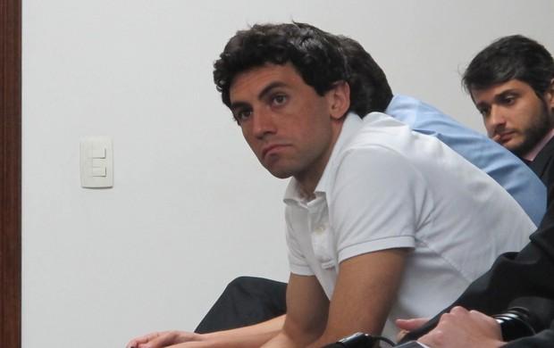 Ricardo Berna julgamento (Foto: Gustavo Rotstein / Globoesporte.com)
