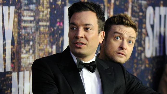 Jimmy Fallon e Justin Timberlake (Foto: Divulgao)