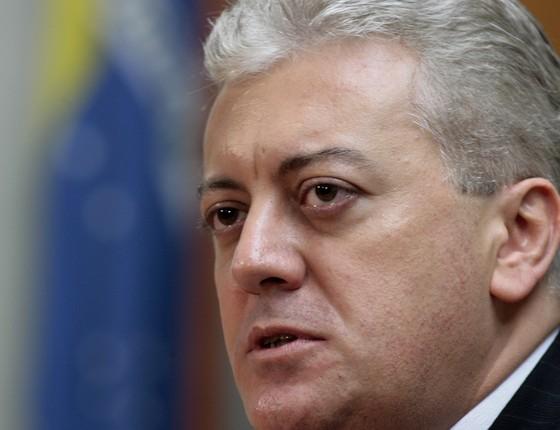 Aldemir Bendine, novo presidente da Petrobras (Foto: Eraldo Peres/AP)