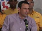 Oposição na Venezuela diz já ter a maioria absoluta dos deputados