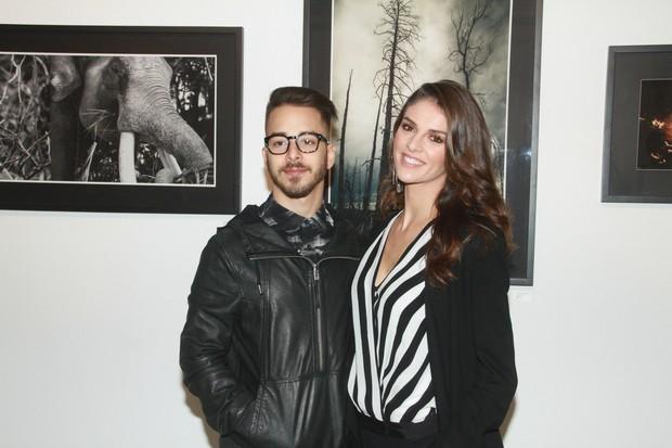 Junior Lima e a esposa Mônica (Foto: Manuela Scarpa / PhotorioNews)