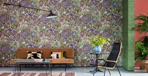 15 ideias para usar papéis de parede botânicos (Foto: Divulgação)