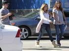 Juntos? Jennifer Lopez e Casper Smart almoçam após suposta briga