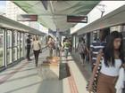 Nova estação do VLT é inaugurada nesta quarta-feira em Santos, SP