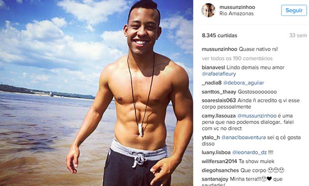 Mussunzinho no Instagram (Foto: Reprodução/Instagram)