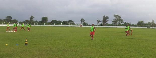 Internacional-MA treinando para Copa do Brasil de futebol feminino (Foto: Divulgação / Fernando Castelo Branco)