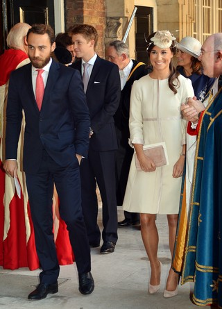Pippa Middleton e James Middleton (Foto: JOHN STILLWELL / POOL / AFP)