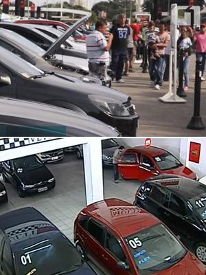 venda de carros (Foto: G1 / TV Globo)