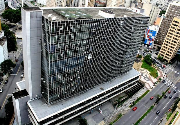 Vista do Palácio Anchieta, sede da Câmara Municipal de São Paulo (Foto: Henrique Boney/Wikimedia Commons)