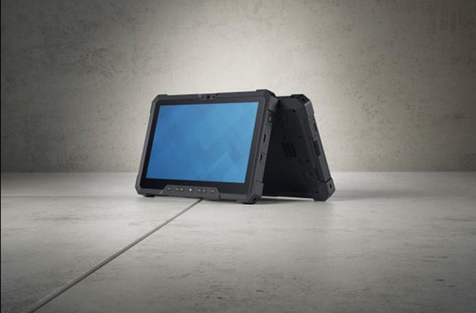 Tablet resistente da Dell tem design que aguenta água, quedas e mais (Foto: Divulgação/Dell)