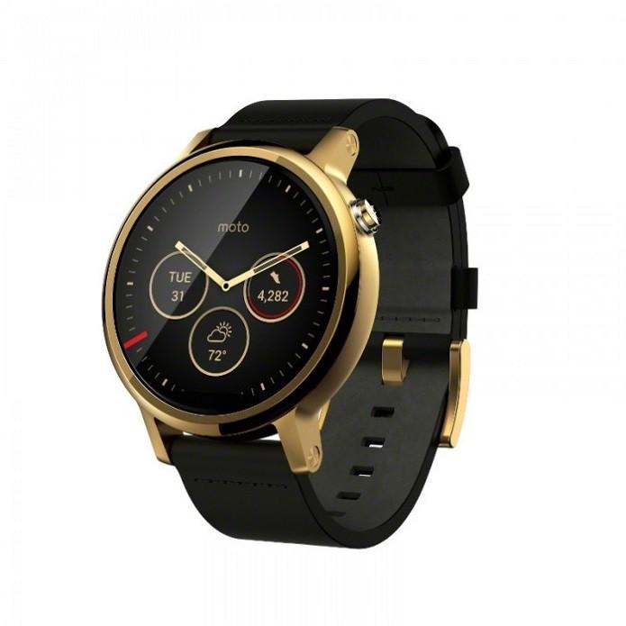 O novo Moto 360 permitirá combinações de pulseira e caixa do relógio (Foto: Divulgação/Lenovo)