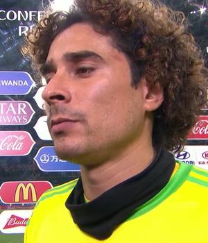 Guillermo Ochoa, goleiro da seleção mexicana (Foto: Reprodução SporTV)