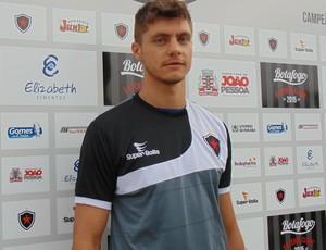Carlinho Rech, zagueiro do Botafogo-PB (Foto: Divulgação / Botafogo-PB)