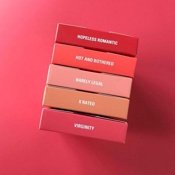 Novos blushes da grife de Kylie Jenner (Foto: Reprodução)
