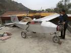 Agricultor chinês gasta R$ 16 mil para construir avião caseiro