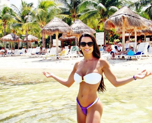 Fernanda D'Ávila Cancun (Foto: Arquivo Pessoal)
