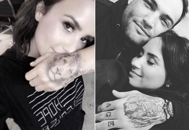 Demi Lovato e o ex-namorado, Guilherme Vasconcelos (Foto: Reprodução)