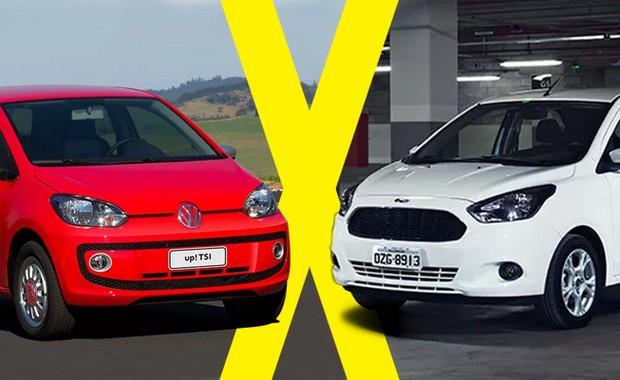 Jogo Rapido Volkswagen Move Up Tsi X Ford Ka   Se
