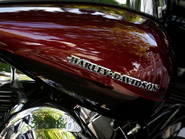 Harley-Davidson é multada por emissões de poluentes nos Estados Unidos (Foto: REUTERS/Jacky Naegele)