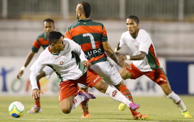 Portuguesa X Boa Esporte (Foto: Mauro Horita / Agência estado)