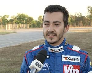 Piloto de Kart de Palmas-TO (Foto: Reprodução/TV Anhanguera)