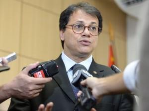 Procurador-geral do trabalho, Luís Camargo (Foto: Camila Correia)