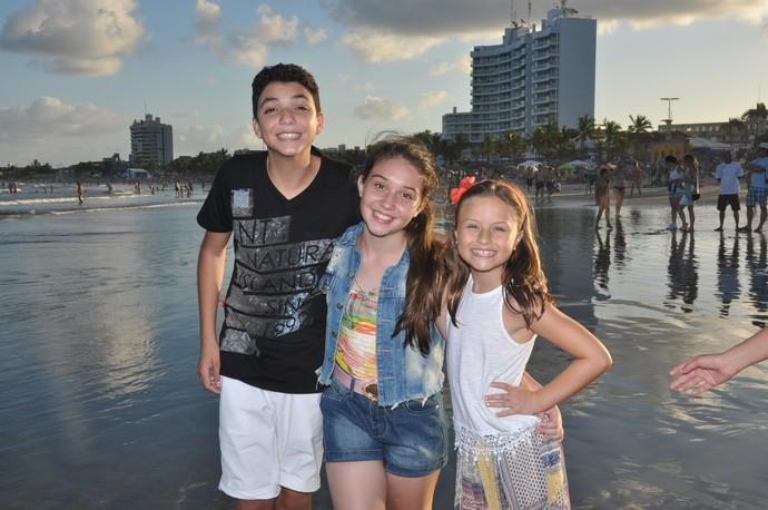 Wagner Barreto, Pérola Crepaldi, Rafa Gomes The Voice Kids (Foto: Roger Santmor)