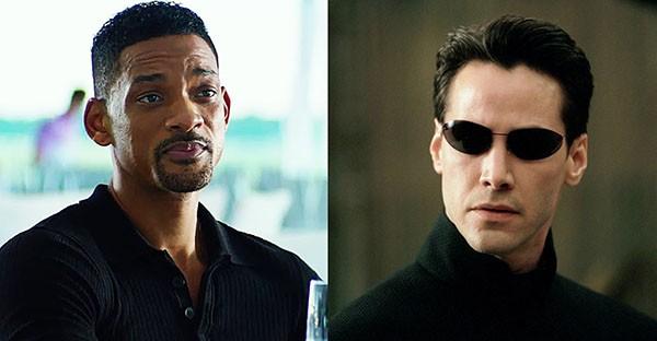 Will Smith e Keanu Reeves (Foto: Reprodução)