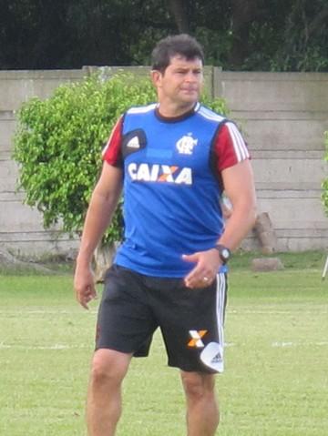 Joelton Urtiga Preparador Flamengo (Foto: Thales Soares)