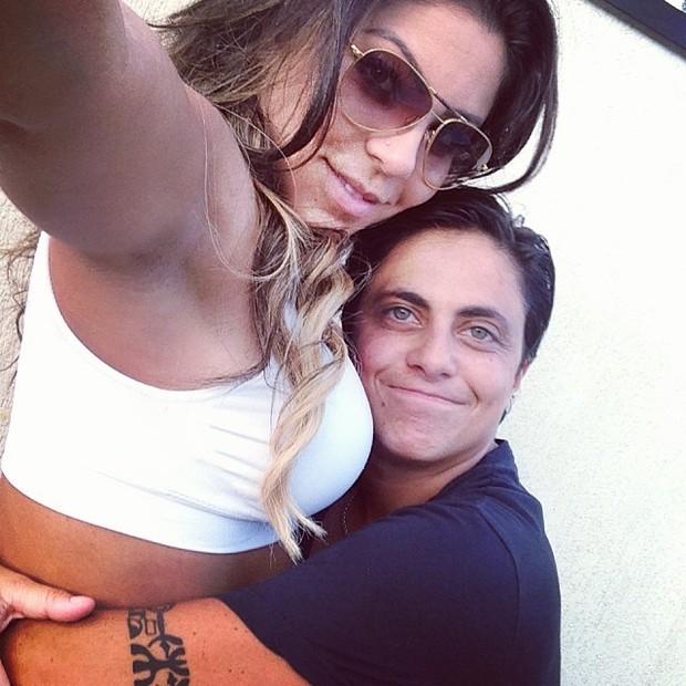Alessandra Ferreira e Thammy Miranda (Foto: Instagram / Reprodução)