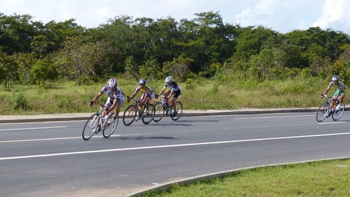 Corrida Cilística Cidade de Macapá reúne atletas do AP e PA (Foto: Wellington Costa/GE-AP)