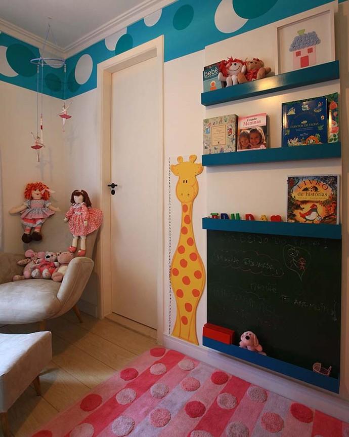 Crianças podem ter um quarto divertido e funcional com os objetos sempre à mão (Foto: Divulgação)