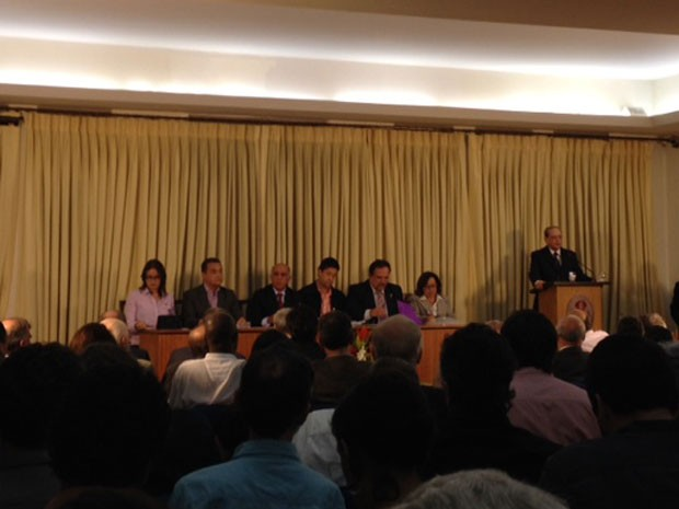Debate de candidatos a governador da Bahia em Salvador (Foto: Henrique Mendes/G1)
