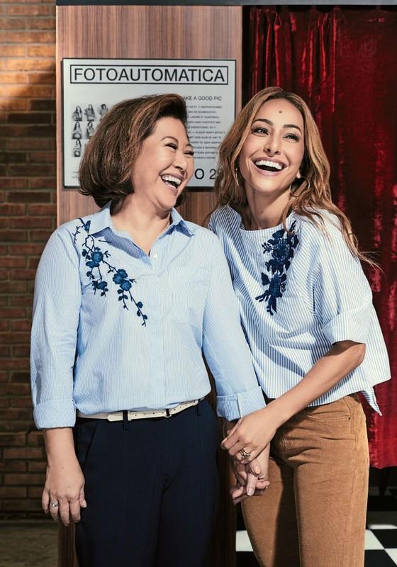 Kika Sato Rahal e a filha Sabrina Sato (Foto:  Pedrita Junckes)