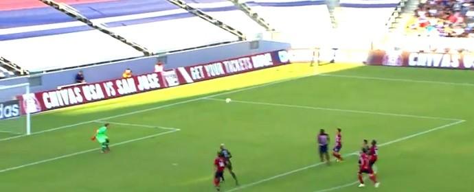 Robbie Keane encobre o goleiro na MLS