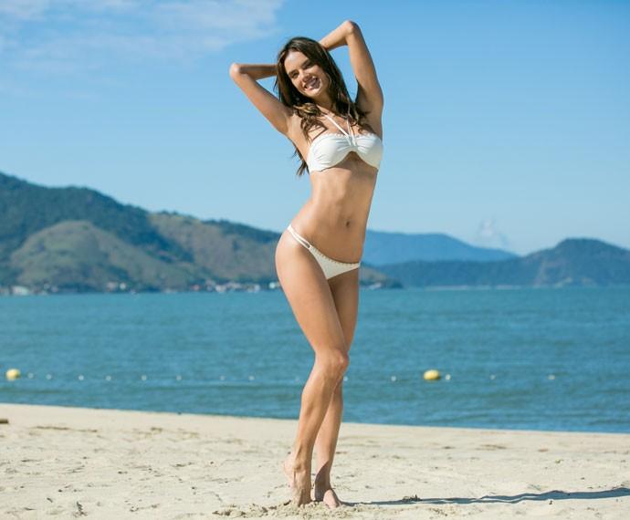 Alessandra revela que mudou os hábitos alimentares (Foto: Isabella Pinheiro/Gshow)
