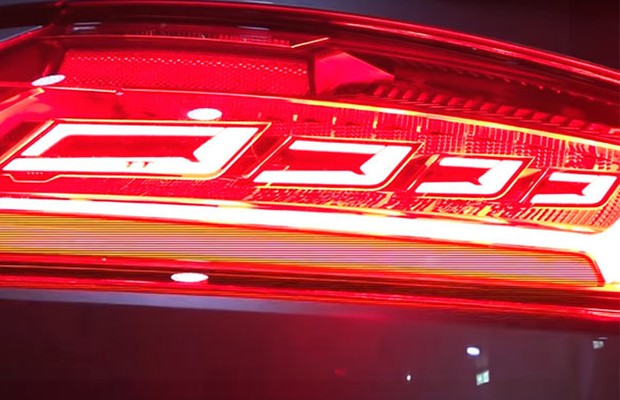 Lanterna OLED Audi TT RS (Foto: Divulgação)