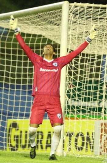 vitor goleiro londrina (Foto: Robson Vilela/Site oficial do Londrina)