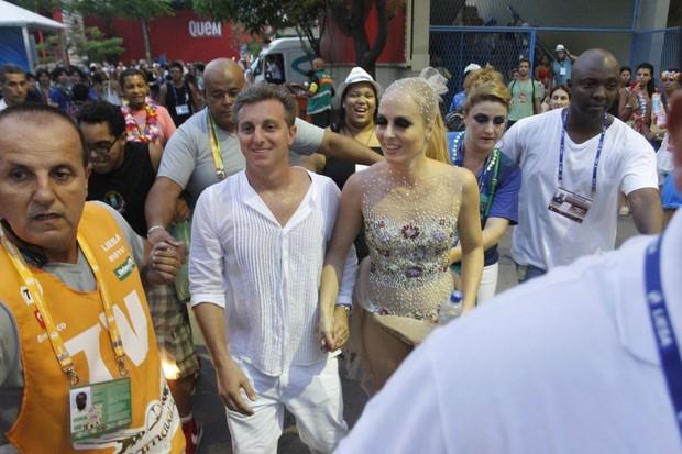 Angélica e Luciano Huck (Foto: Marcos Ferreira/Fotorio News)