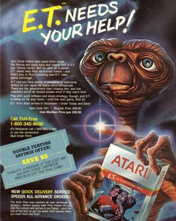 Jogo para Atari impulsionou a maior campanha publicitária da indústria até aquele momento (Foto: Reprodução)