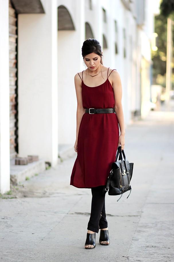 Vestido com calça (Foto: Reprodução/Instagram)